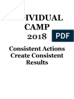 sample individual camp 2018