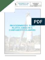 Procedimento P-A. Clarines