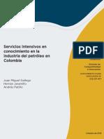 Servicios Intensivos en Conocimiento en La Industria Del Petróleo en Colombia