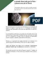 Noticia Meteorito