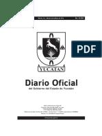 Diario Oficial del Gobierno de Yucatán 2019-05-28