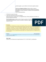Inscripción y Modificación de Representantes Legales