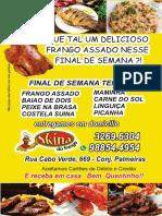 Skina Do Frango Panfleto 2019 Abril