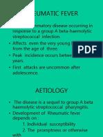 Rheumatic Fever and Rhd 2 for Mls
