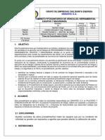 PR-CQ-28 Tratamiento Fitosanitario de Vehiculos, Herramientas,Equipos y Maquinarias