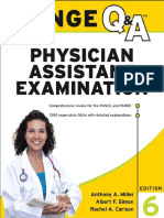 Lange Q and a Physician Assistant Examin 6th edition