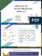 4. Analisis de Correspondencia Simple