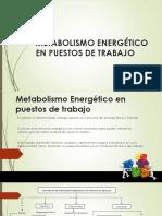 Metabolismo Energético en Puestos de Trabajo