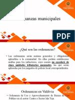 Ordenanzas Municipales 2- Maria Jose Almonacid