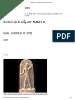 Marduk _ El Arca de Los Dioses _ Página 2