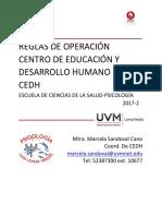 Manual CEDH 2017
