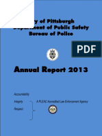 2013 Pittsburgh Police Department annual report