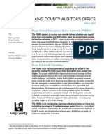 PSERN King County Auditor Report 20190401