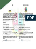 Comunicado Copa Premier 2019
