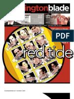 washingtonblade.com - vol. 41, issue 45 - november 5, 2010