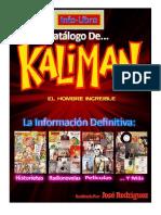 Catalogo de Kaliman
