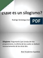 4. Qué Es Un Silogismo