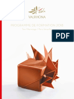 Catalogue Formations Ecole Valrhona 2018 0