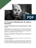 11 Pensieri Illuminanti Di Albert Einstein