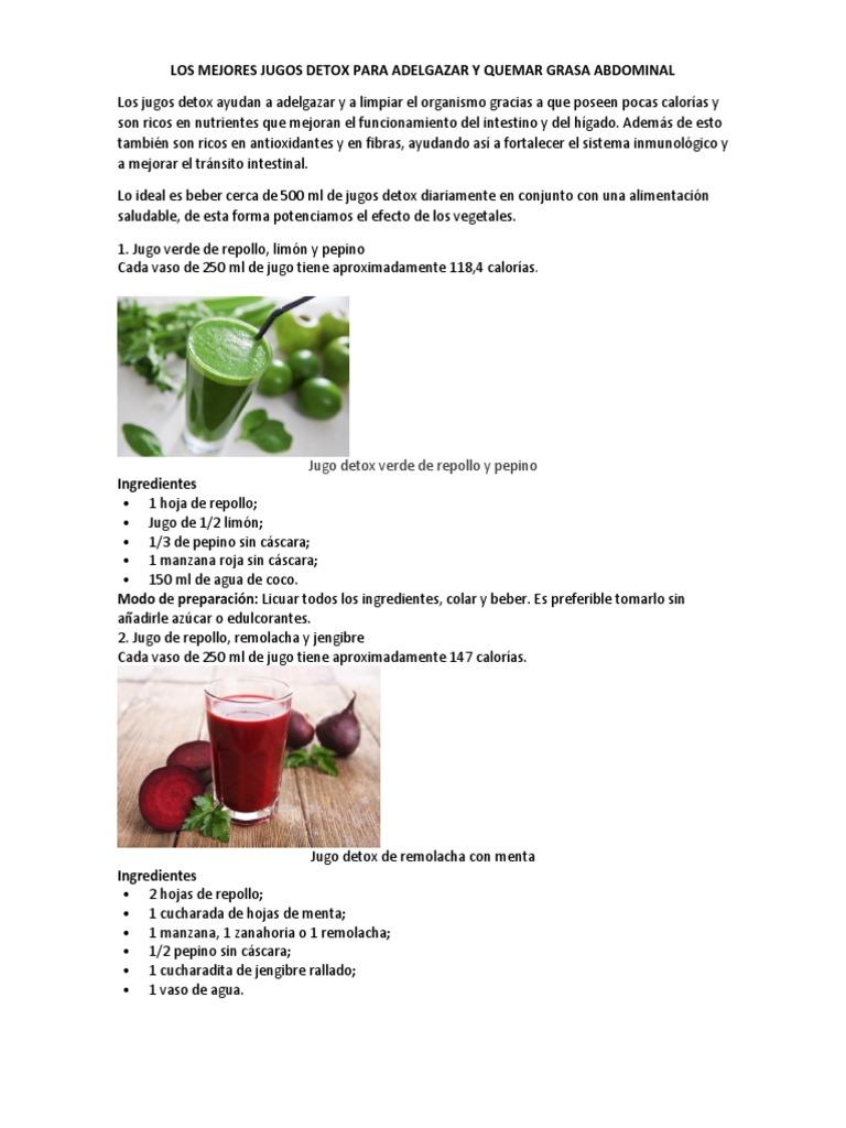 Pepino con manzana verde para adelgazar