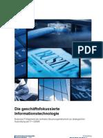Detecon-Studie - Die geschäftsfokussierte Informationstechnologie. Business-IT-Alignment als zentrales Steuerungsinstrument zur strategischen Ausrichtung der IT