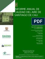 informe anual calidad del aire cali