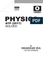 ATPs Solved 2017 Book