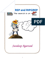 GREP and RIPGREP
