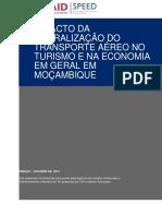 Impacto da liberalizaca do transporte aereo em Mozambique