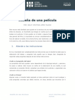 Modelo de Reseña Para Pelicula Universidad de Los Andes