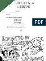 Derecho a La Libertad