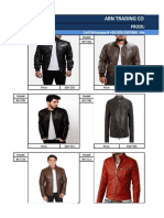 Wholesale Price List _ Men's Leather Jackets & Coats 1