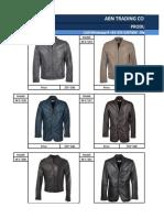 Wholesale Price List _ Men's Genuine Leather Jackets & Coats 2