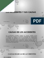 Los Accidentes y Sus Causas