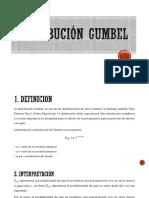 Distribución Gumbel