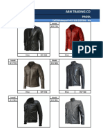Wholesale Price List _ Men's Genuine Leather Jackets & Coats 4