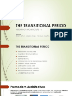 The Transitional Period