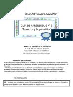 GUIA 7° Unidad 5