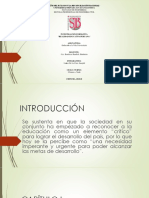 La Realidad Educativa Peruana