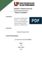 Etapas Del Proceso CIVIL II.
