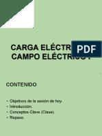 Carga Electrica Campo Electrico i