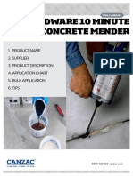 Concrete Mender 2017