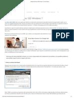 Optimizar Discos Duros SSD Windows 7 - Trucos Windows 7