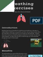 breathing exercisesn  options