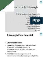 Clase 5 - Psicología Experimental.