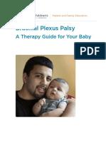 Brachial Plexus Injury Exercise