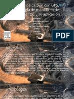 Minería de Carbón con GPS, Tecnología de Monitoreo de hundimientos y su aplicación