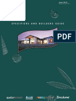 Specifiers and and Builders Guide June 2010