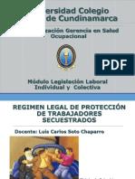 Regimen Legal Proteccion Trabajador Secuestrado