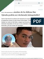 Defensa del asesino de Ilse Ojeda